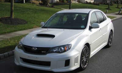 2011 Subaru WRX in Satin White Pearl (SWP)