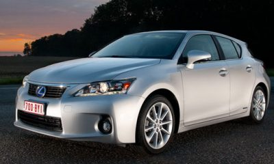 Lexus-CT200h Front View