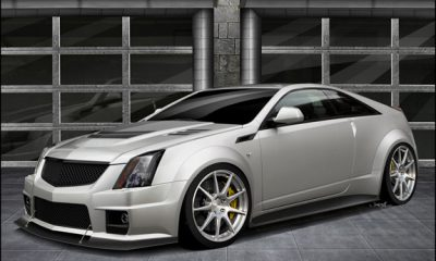 2012 Cadillac CTS-V Coupe Hennessey V1000