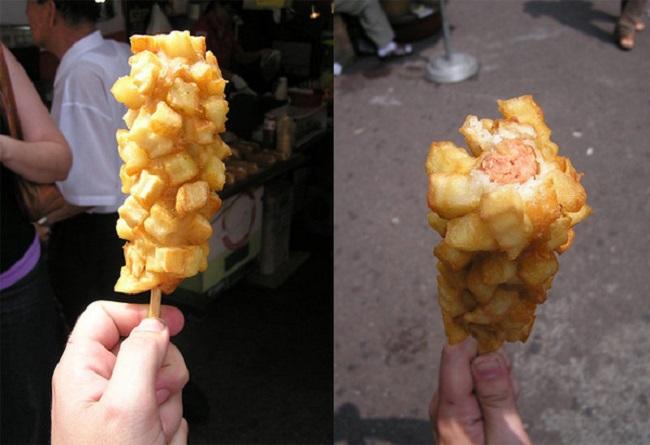 French Fry Corn Dog