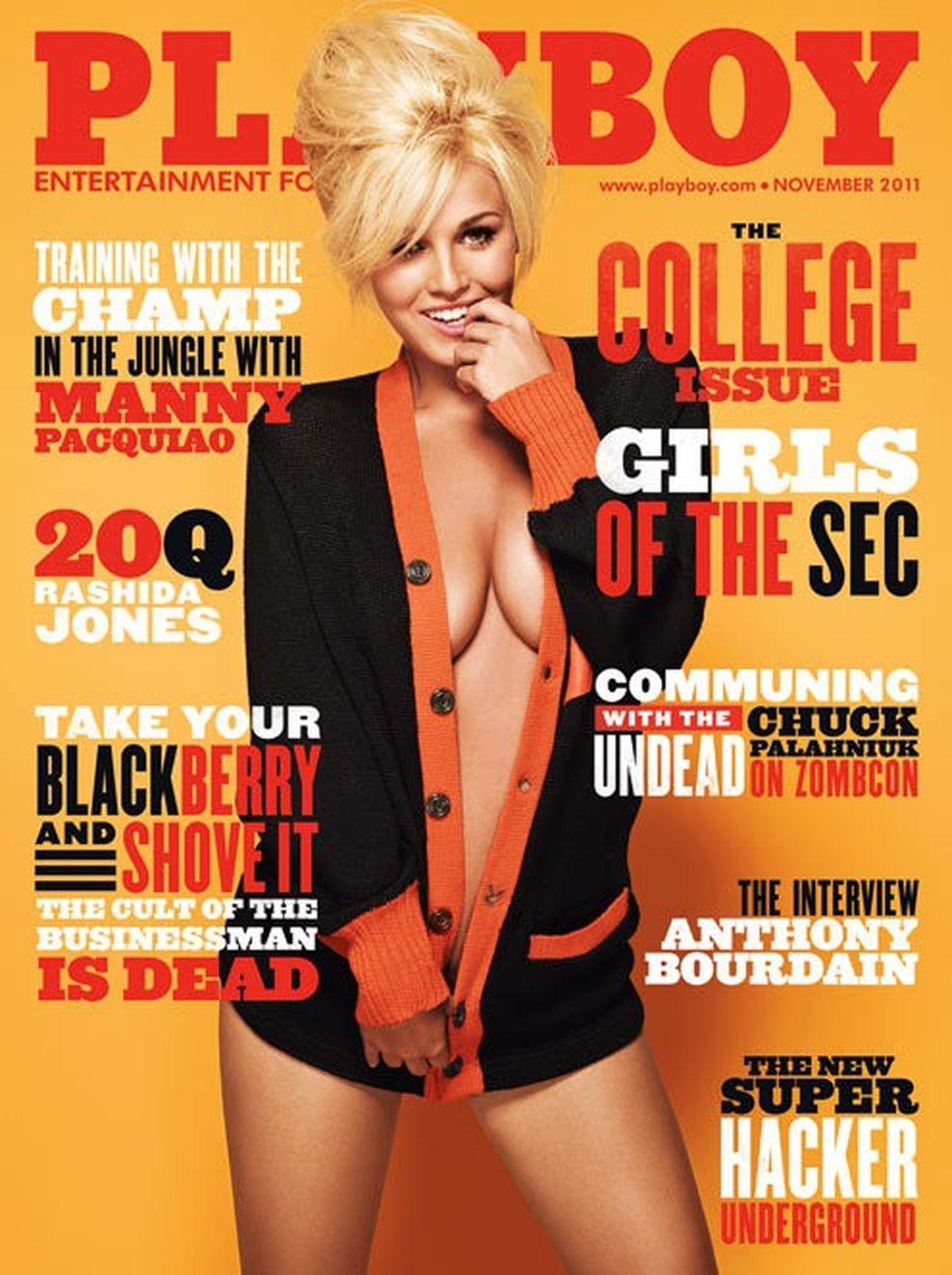 Playboy November 2011 - Girls Of The SEC