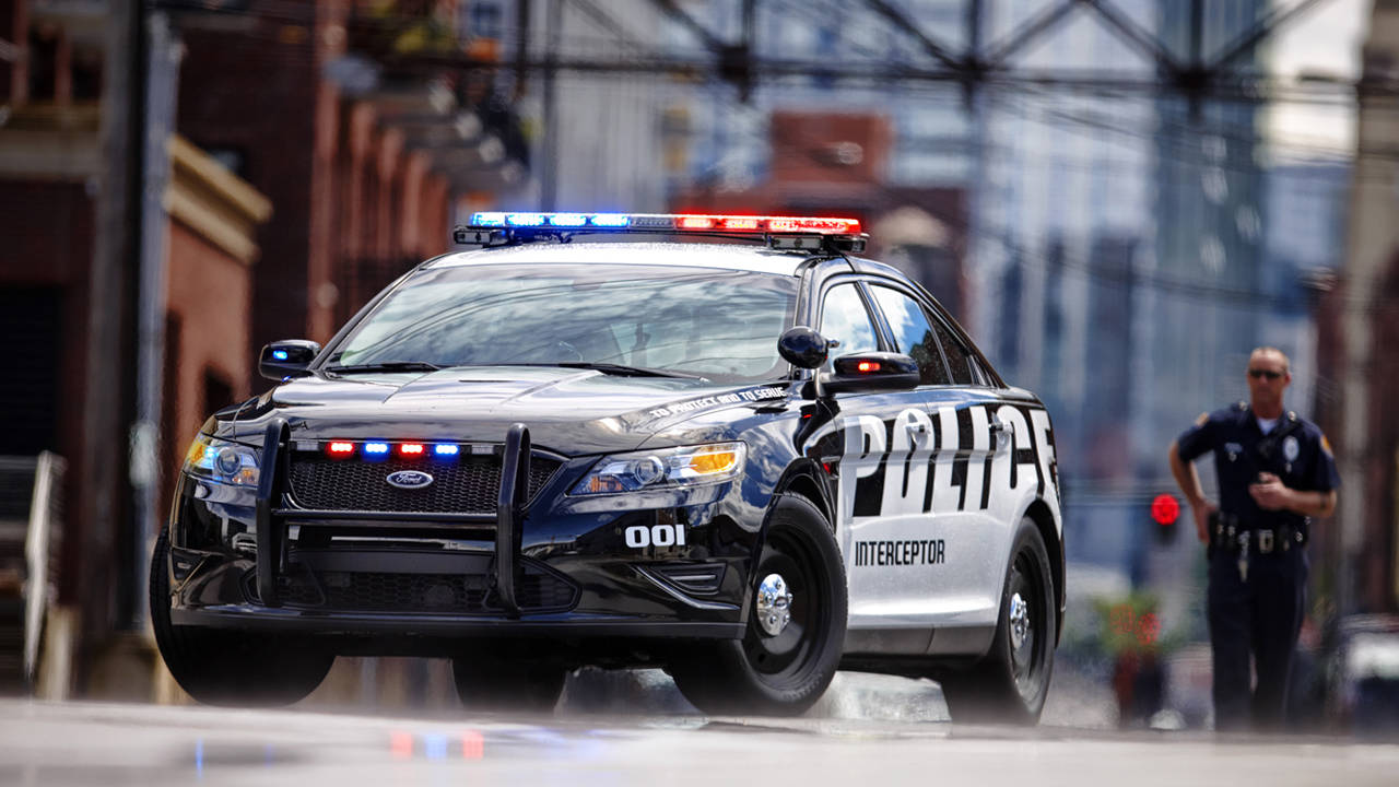 2013 Ford Police Interceptor Sedan