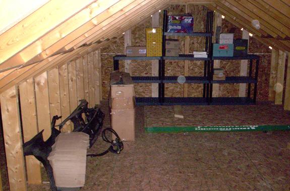 attic shelf plans