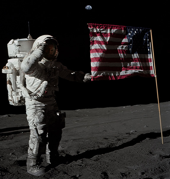 When did neil armstrong walk on the moon date in Wellington