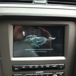 2013 Ford Mustang - LCD Screen