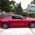 2013 Ford Mustang - Side Profile