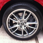 2013 Ford Mustang - 19 Inch Wheels