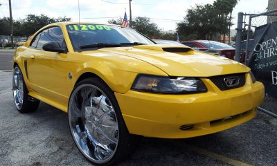 Mustang on 28s