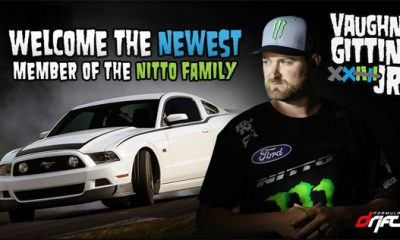 Vaughn Gittin Jr Joins Forces With Nitto Tire