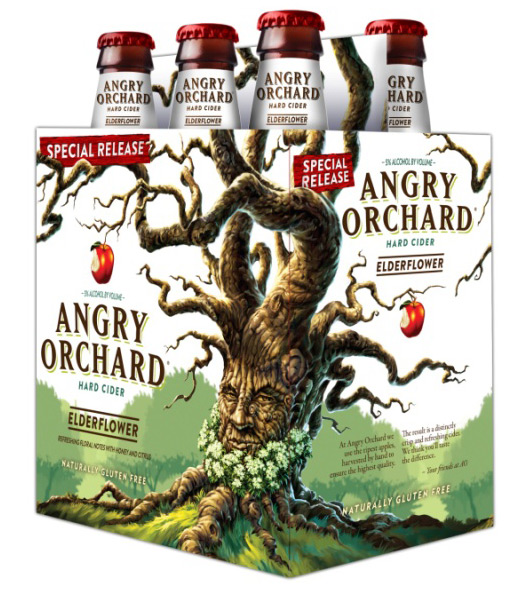 Angry Orchard Elderflower Cider