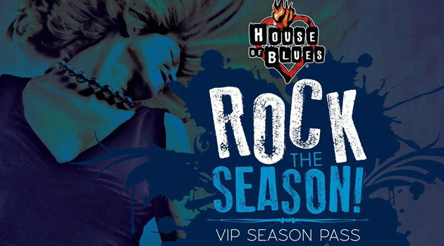 Get Your House Of Blues AC Spring Season Pass