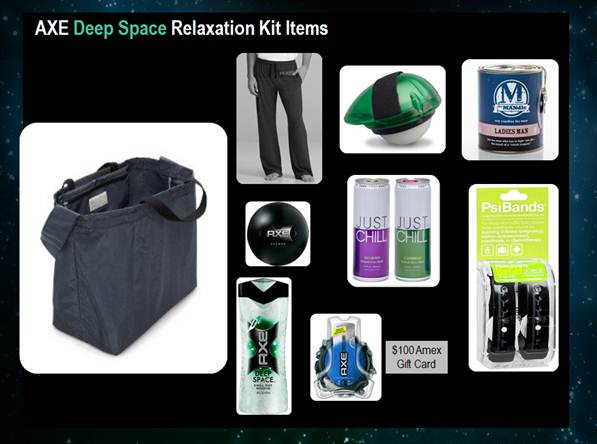AXE Deep Space Relaxation Kit