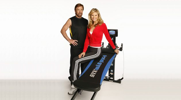 Doing Pilates With The Total Gym XLS