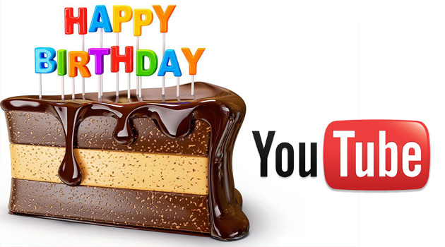 YouTube Birthday