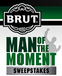 BRUT Man Of The Moment Sweepstakes