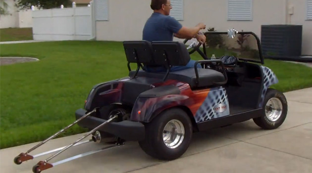 A 200hp Hayabusa Powered Golf Cart That Goes Over 100mph