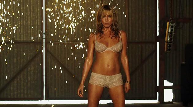 Jennifer Aniston Plays Stripper
