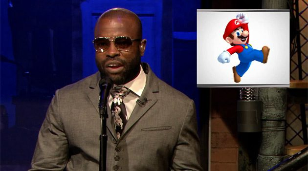 The Roots' Tariq Performs A Super Mario Bros Themed Rap