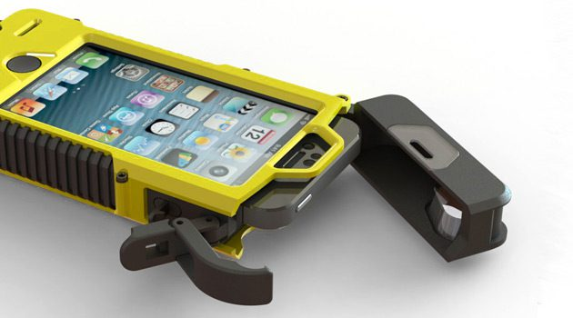 SLXtreme iPhone 5 Case Is Ultra-Rugged, Solar Powered and Waterproof