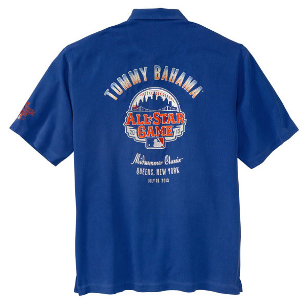 Tommy Bahama 2013 MLB All-Star Game Shirt