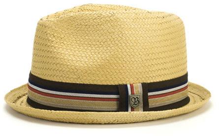 brixton castor straw hat