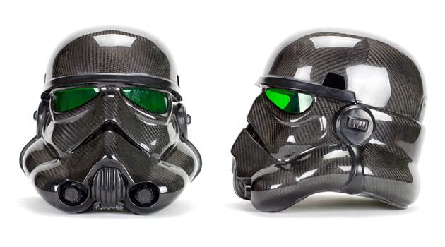 Star Wars Fanatic Builds A Carbon Fiber Stormtrooper Suit