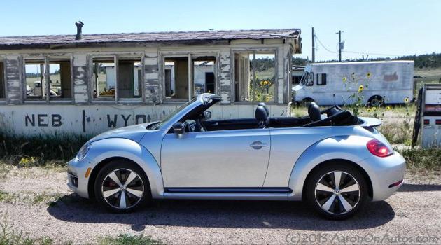 2013 VW Beetle Turbo Convertible
