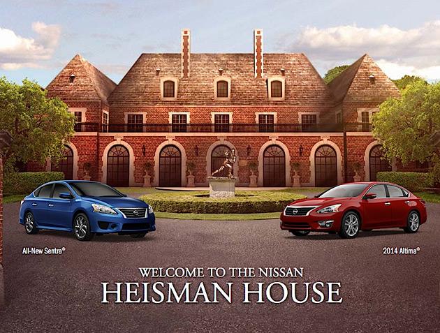 Nissan Heisman House