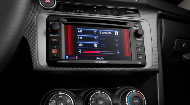 Scion Touchscreen Audio System