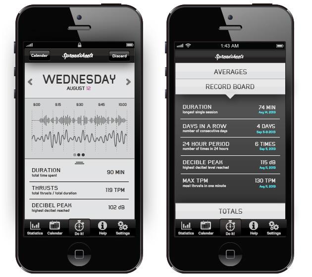 Spreadsheets App Screenshot