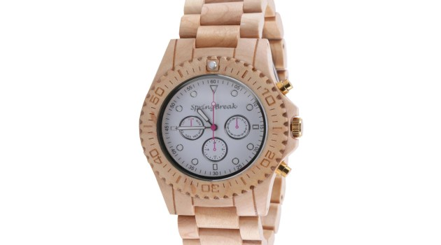 Spring Break 'White Party' Wood Watch