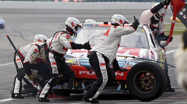 Imagine Having A NASCAR Pit Crew At Your Disposal