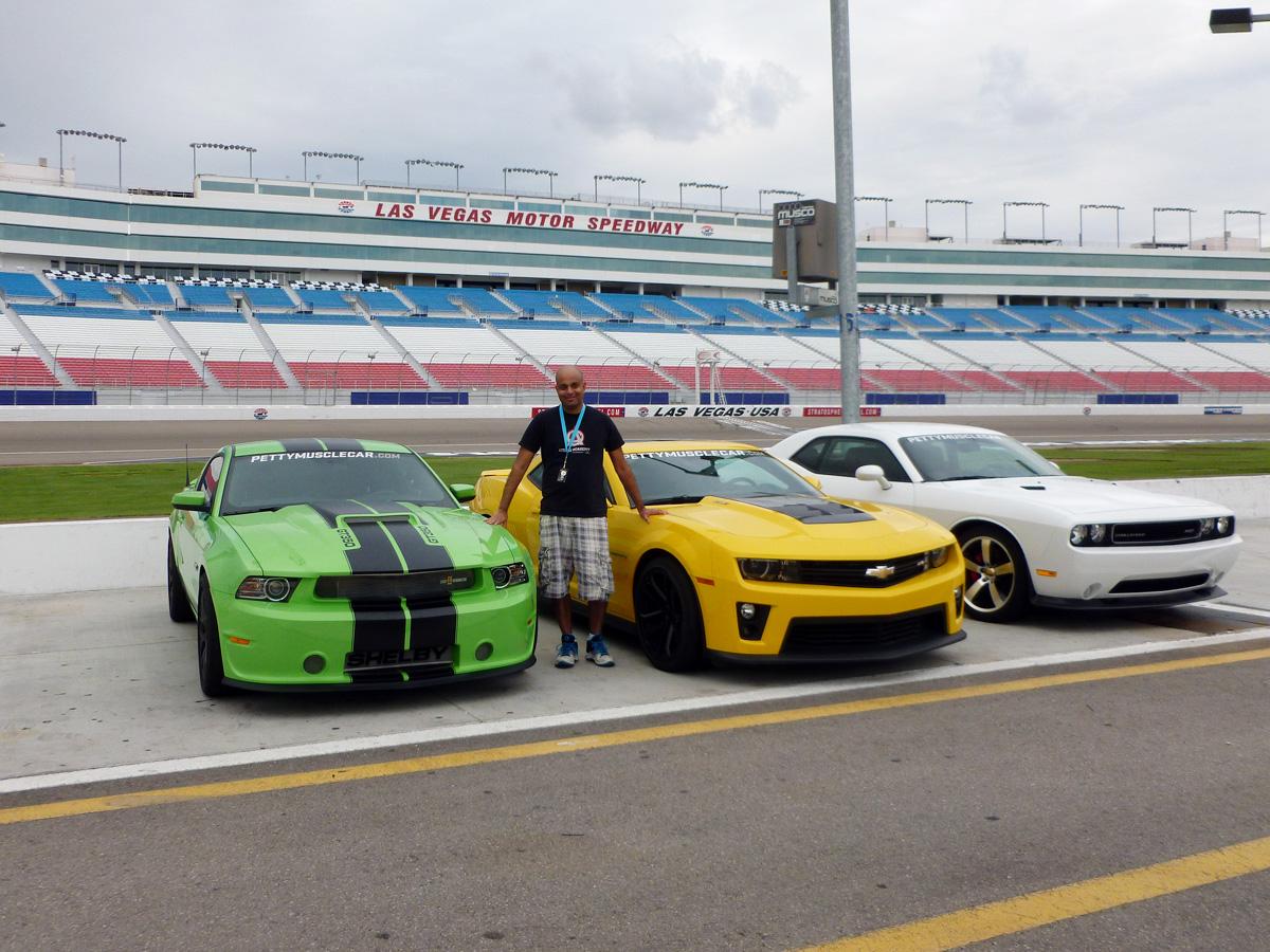 American Muscle Car Challenge - Mustang, Camaro, Challenger