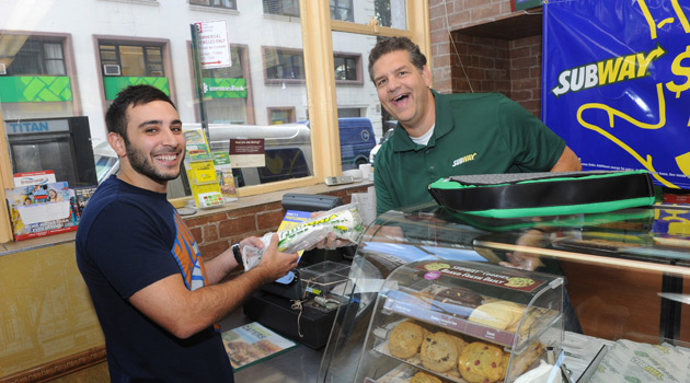 SUBWAY - Mike and Mike