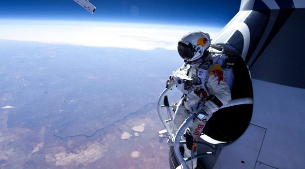 Red Bull Releases Full POV Video Of Felix Baumgartner's Jump