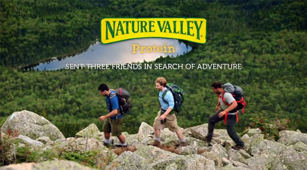 Nature Valley Sent Three Friends In Search Of Adventure