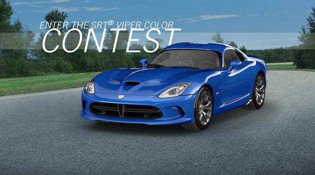 SRT Viper Color Contest