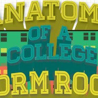 The Anatomy Of A College Dorm Room