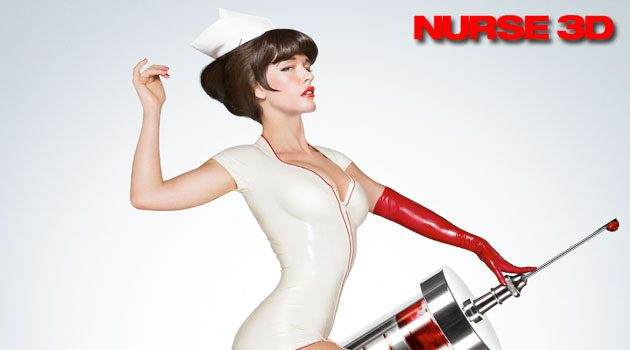 'Nurse 3D' Gets A Sexy Crazy New Poster