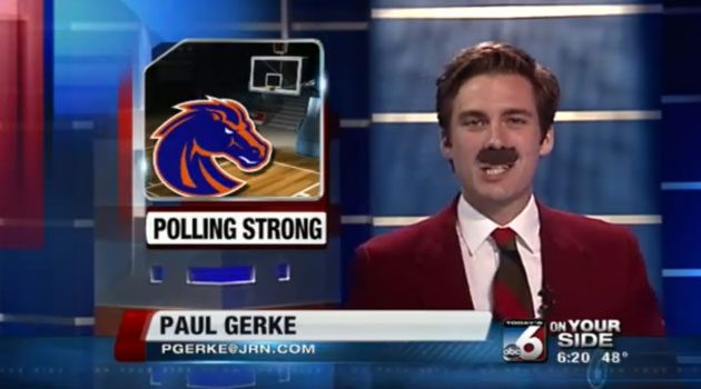 Boise Sports News Anchor Does Entire Segment As Ron Burgundy