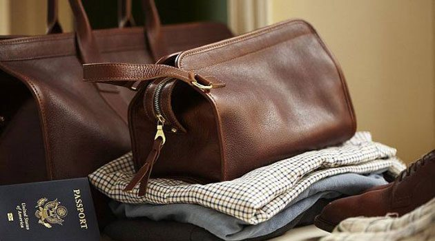A Man's Guide To Packing Toiletries