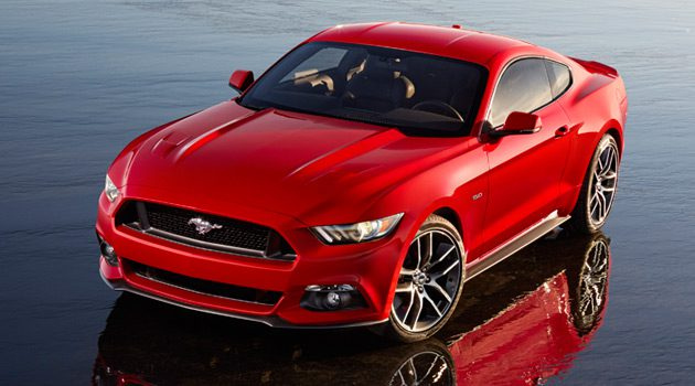 50 Years Of The Mustang (Infographic)