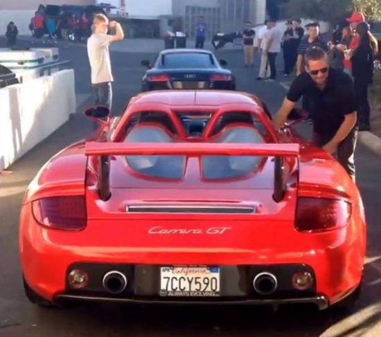 Carrera GT - Paul Walker