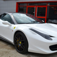 Ford Cougar Transformed Into Ferrari 458 Italia Replica