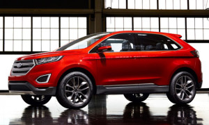 The Ford Edge Gets A Little Edgier