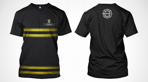 Guinness Firefighter Tees
