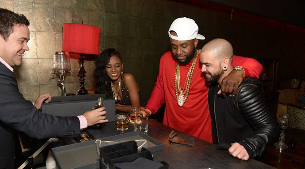Celebs Toast w/ Exclusive New Crown Royal Whisky at Miami Art Basel