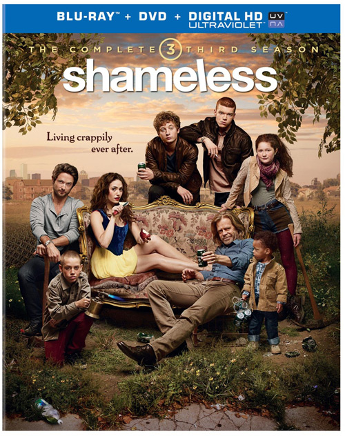 Shameless Season 3 on Blu-ray