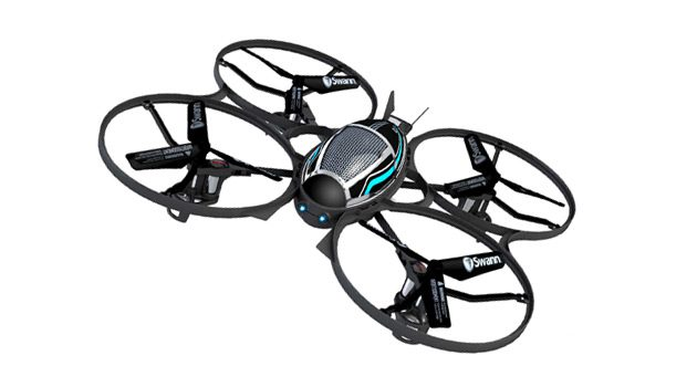 Swann Launches New Four Rotor, Easy to Fly RC Helicopter-Quad Starship