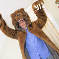 The Workaholics Inspired Bear Coat